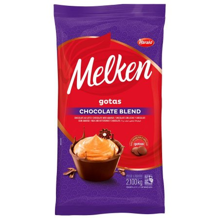 CHOCOLATE GOTAS BLEND MELKEN 2,100KG R.103672