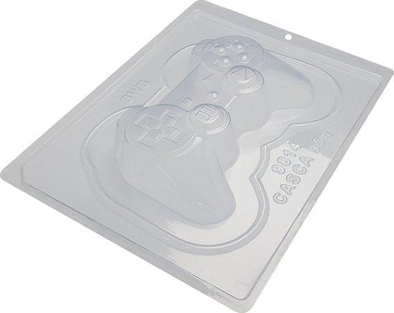 FORMA PARA CHOCOLATE COM SILICONE BWB CONTROLE VÍDEO GAME JOYSTICK PLAYSTATION GRANDE R.9814