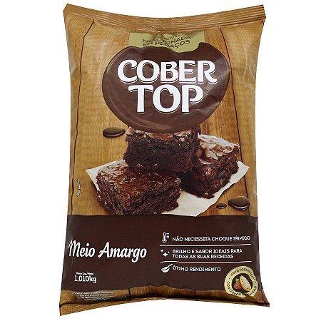 CHOCOLATE COBERTOP MEIO AMARGO KIBBED B.1KG R.21358