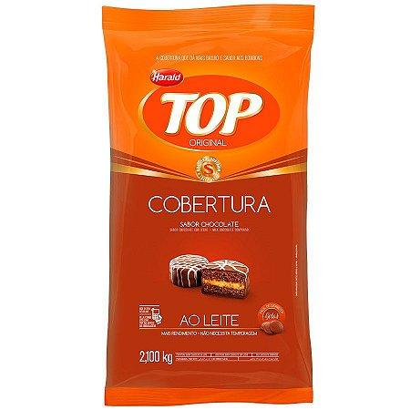 CHOCOLATE H.TOP GOTAS  AO LEITE 2,1KG REF:100597