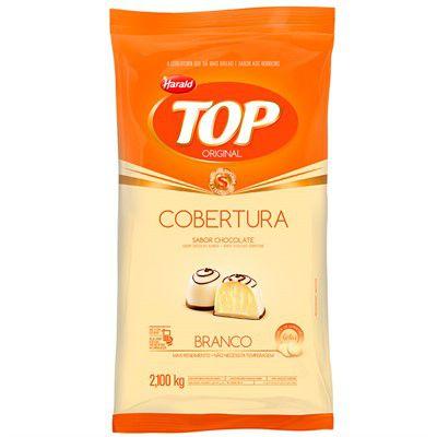 CHOCOLATE H.TOP GOTAS BRANCO 2,1KG REF.100598