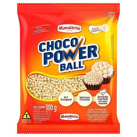 CHOCO POWER MINI BALL BRANCO C/300GR R.4154