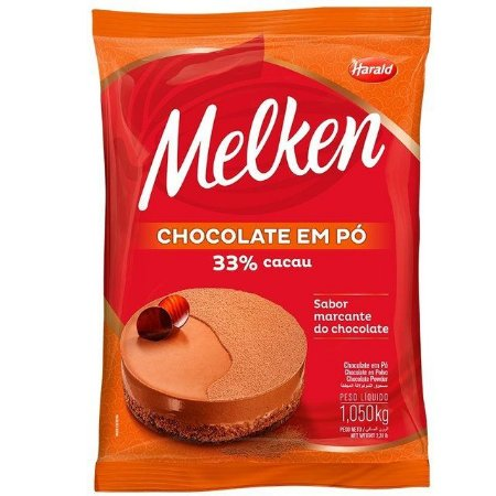 CHOCOLATE EM PO 33% DE CACAU CONFEITEIRO H.1,050KG UN R.102068