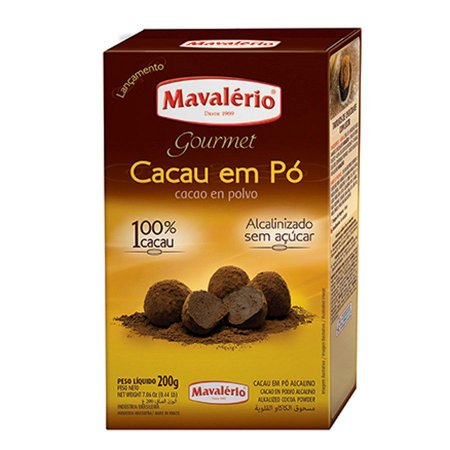 CACAU EM PO NATURAL MAV.200GR UN R.4418