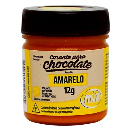 CORANTE PARA CHOCOLATE AMARELO 12G MIX UN