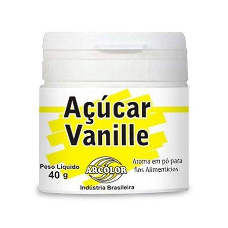 AÇÚCAR VANILLE ARCOLOR 40GR R.VA0050