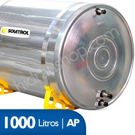Reservatório Térmico Soletrol Max - 1000 litros - Alta Pressão