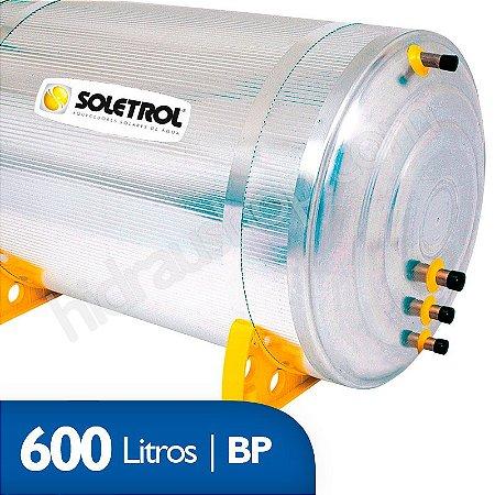 Reservatório Térmico Soletrol Max - 600 litros - Baixa Pressão - D60