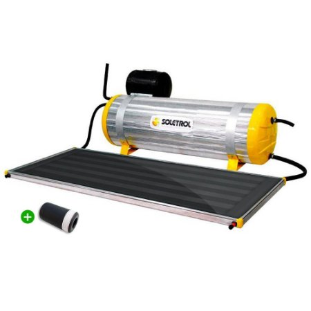 Aquecedor Solar Soletrol Special 200 Litros com Coletor Solar 1.6m² + VAC Válvula Atenuante de Congelamento + KIT Instalação. Fácil de Instalar!