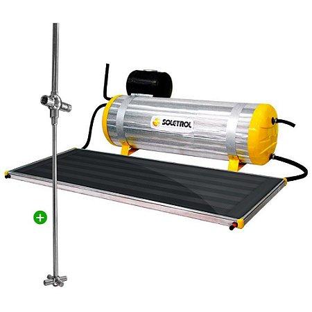 Aquecedor Solar Soletrol Special 200 Litros com Coletor Solar 1.6m² + Registro Misturador Solar para Chuveiro + KIT Instalação. Fácil de Instalar!
