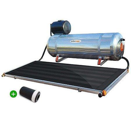 Aquecedor Solar Solarmax Eco 200 com Coletor Solar de 2,0m² em Tubos Inox com VAC!