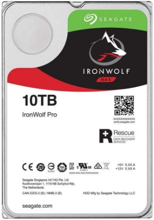 Seagate IRON WOLF - 10TB
