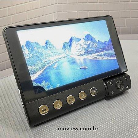 Dual Moview 1080p (frente e verso) - Câmera Veícular