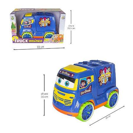Carrinho Truck Didático