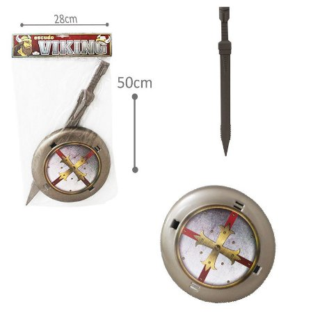 Escudo Bárbaros Vikings