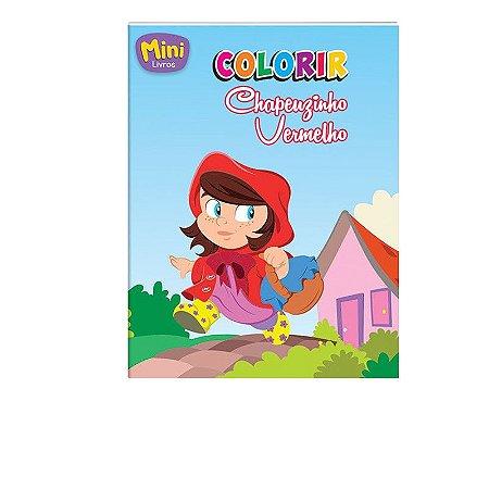 Mini Livro Colorir - Chapeuzinho Vermelho