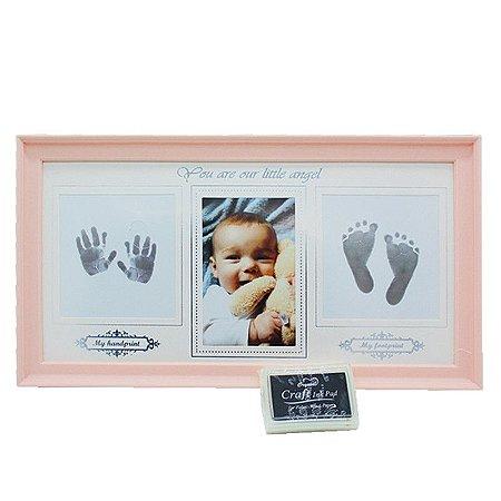 Porta Retrato Bebê c/ Carimbo