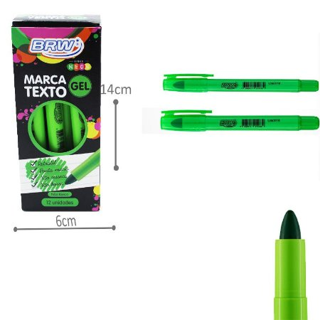 Marca Texto Gel - Verde