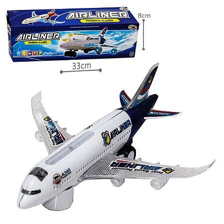 Avião Airliner - Primeira classe