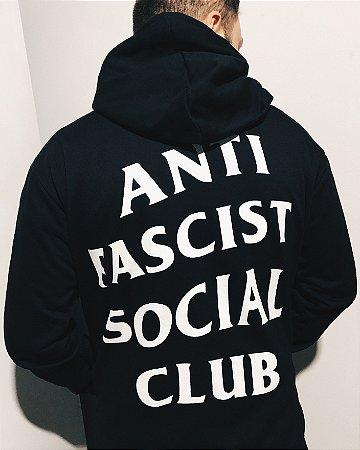 Moletom - Black Hood Antifa