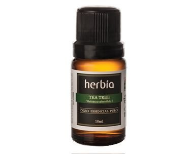 Óleo Essencial Tea Tree Melaleuca HÉRBIA 10ml