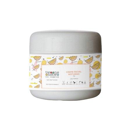 Creme Facial Noturno Antioxidante SkinFood Vitamina C Natural Vegano Twoone Onetwo 60g