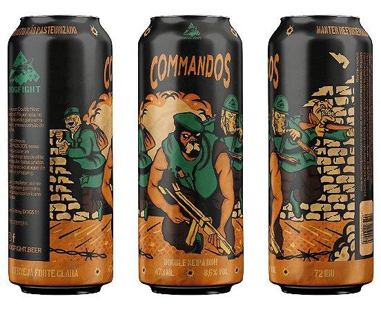 Commandos Double NEIPA - pack 3 - Exclusivo Pré-venda