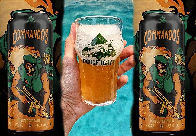 Kit Pint pequeno Commandos (Pint + 2 latas)