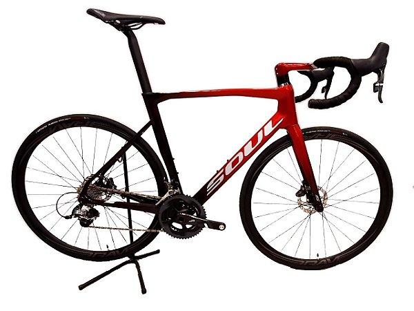 Bicicleta Soul 3R5 22V 105 Aero Carbono