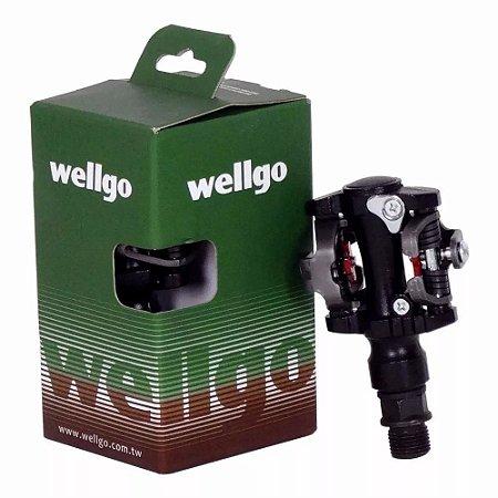 Pedal Clip Wellgo 919 Preto
