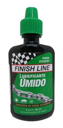 Lubrificante p/ Corrente Finish Line Úmido 60ml