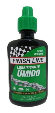 Lubrificante Óleo Finish Line Úmido 60ml
