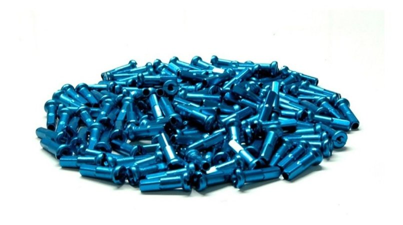 Nipples Kombat 1,8mm 72 Pcs Azul