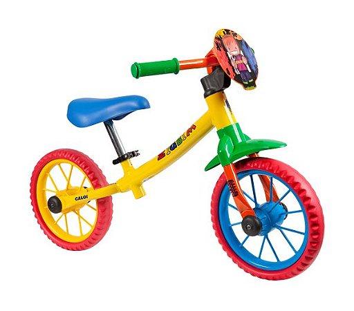 Bicicleta Infantil Nathor Balance Zigbim s/ Freios c/ Rolamento (equilíbrio)