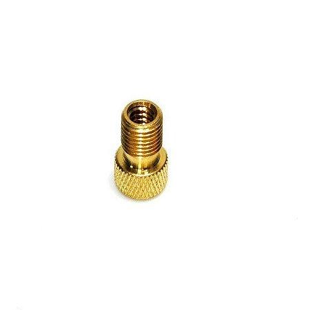 Adaptador de Válvula Schrader p/ Presta Alumínio (1 unidade)