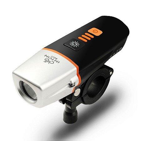 Farol USB 400 Lumens c/ Fotocélula Inton BC21