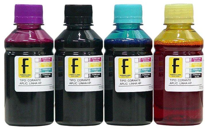 Tinta EcoTank Ink HP 100ml para Impressoras Tanque 116 412 416 GT 316 Dye GT5822 5822 5820 GT5820 GT 51 52 53 GT51 GT52 GT53
