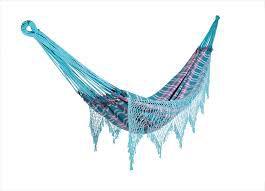 Rede para descanso artesanal