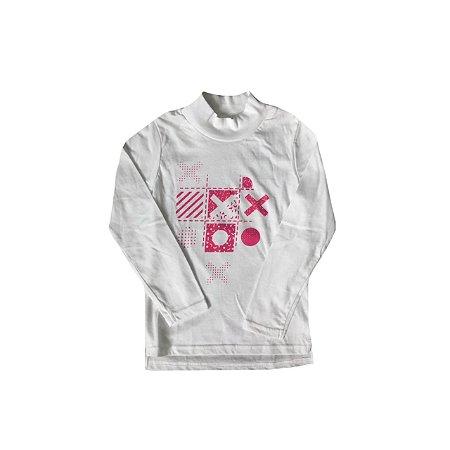 Camiseta WEDZE Infantil Manga Longa
