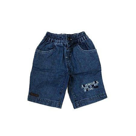 Bermuda Jeans MARISOL Infantil com Elastico