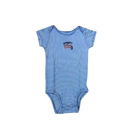 Bodie CARTER`S Infantil Listras Branco e Azul