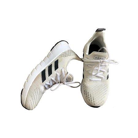 Tenis ADIDAS Branco e Preto