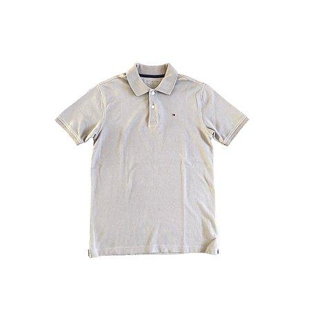 Camiseta Polo TOMMY HILFINGER Infantil Cinza