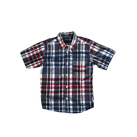 Camisa OSHKOSH Infantil Xadrez
