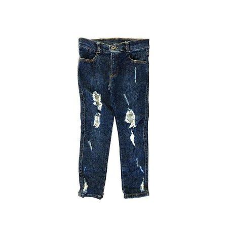 Calça Jeans Destroyed PUC