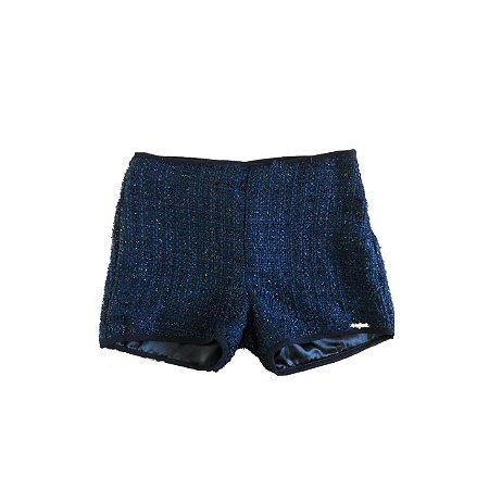 Shorts INFANTI Infantil Marinho e Preto