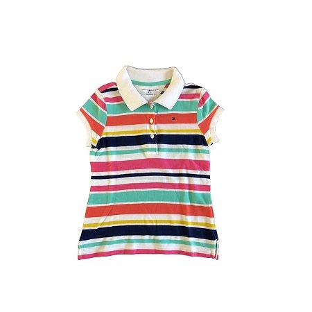 Camiseta Polo TOMMY HILFINGER Infantil Listras