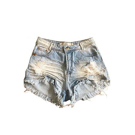 Shorts Jeans DEGRANT Feminina Destroyer