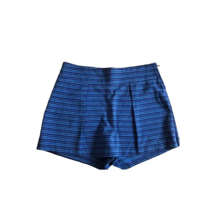 Shorts Saia VERTT COLLECTION Feminino Azul