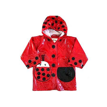 Capa Chuva KIDORABLE Infantil Vermelha Joaninha